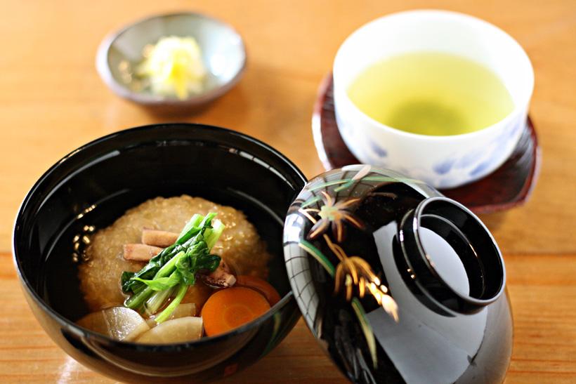 冨田自然栽培緑玄米もちお雑煮