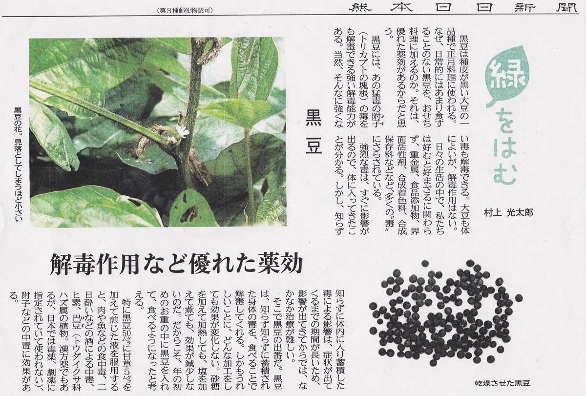 黒大豆の効果