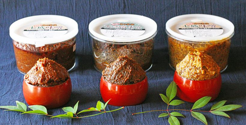 冨田自然栽培味噌は、もろきゅうや豚味噌にもぴったり!