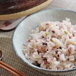 ダブルに炊いてダブルの効果!自然栽培米と自然栽培雑穀米