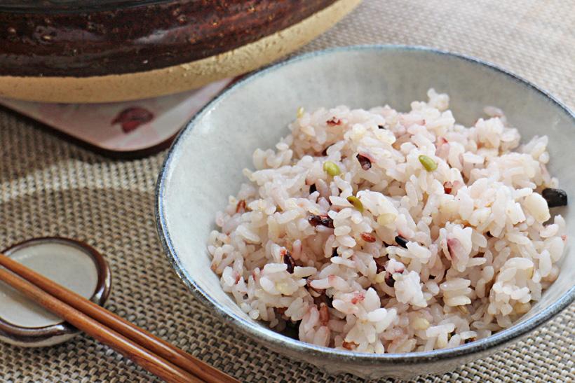 冨田自然栽培雑穀米ご飯