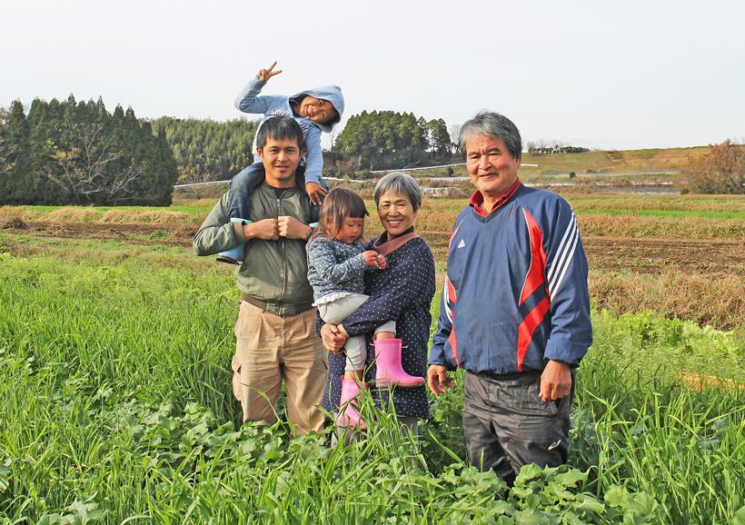 冨田さんご家族