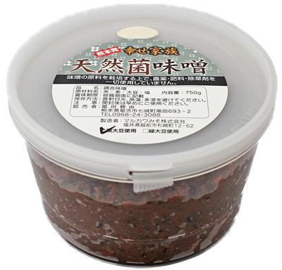 冨田自然栽培天然菌黒大豆味噌