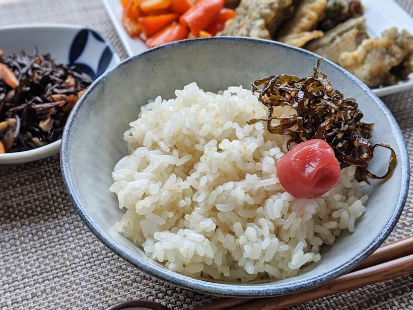 菊宝米井手上自然栽培米5分