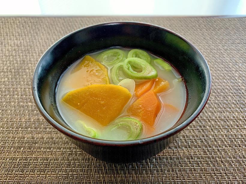 冨田自然栽培春日ぼうぶら味噌汁