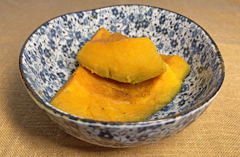冨田自然栽培かぼちゃの煮物