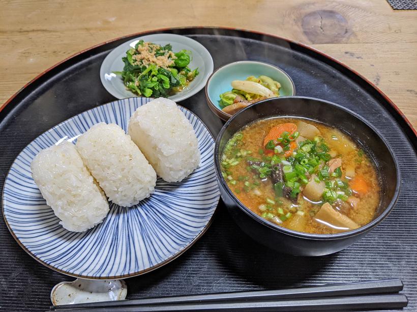 冨田自然栽培米のご飯