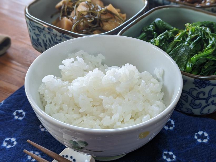 自然栽培米農家桑原とも子のご飯