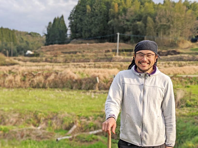 自然栽培米農家縄田伊知郎