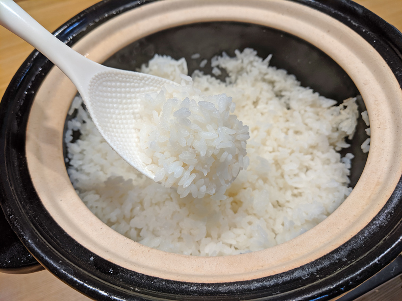 お米 土鍋