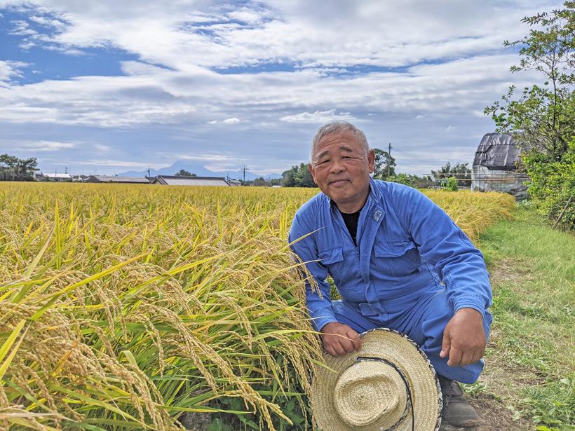 自然栽培米農家 植田秀幸