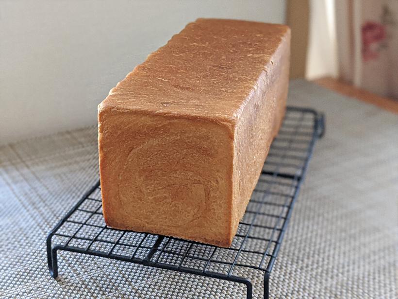 自然栽培強力粉の角食パン