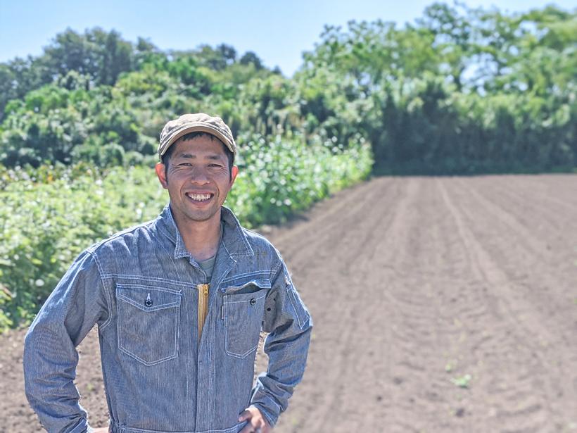 自然栽培小麦農家 坂田真彦