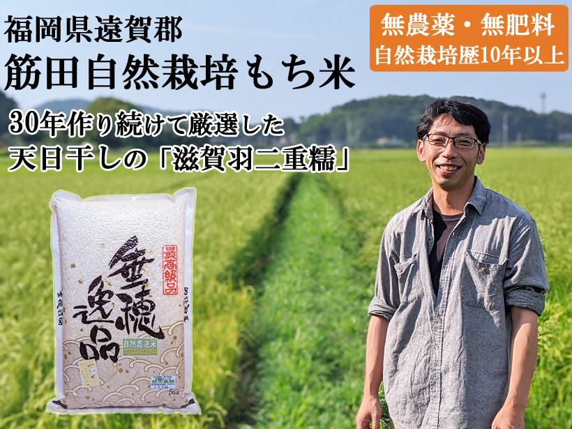 筋田自然栽培もち米