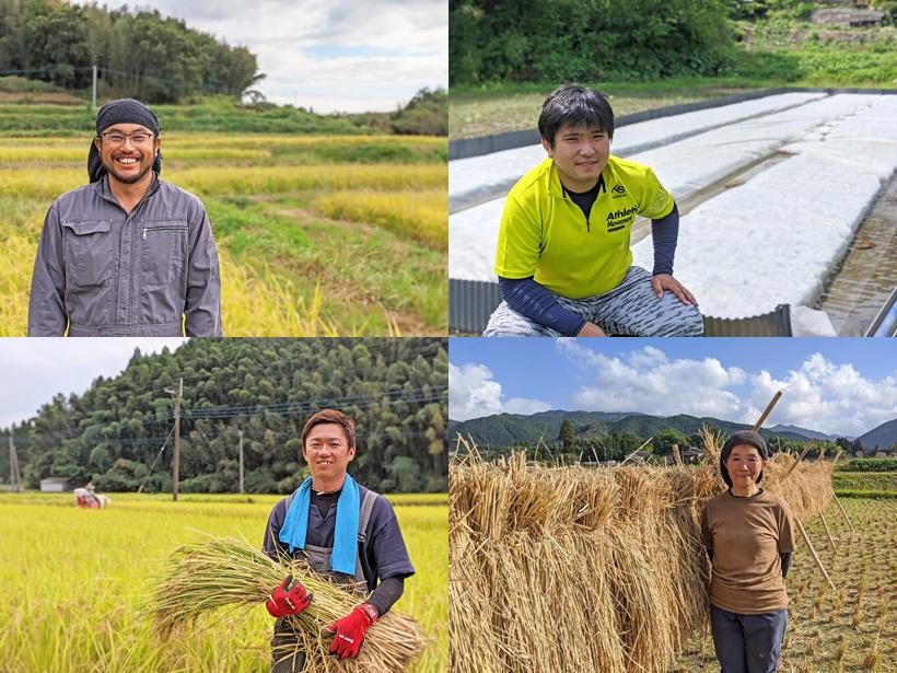 熊本自然栽培米農家さん