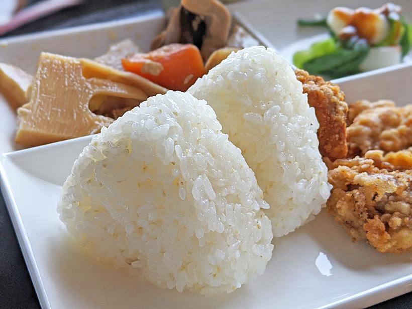 冨田自然栽培米おにぎり