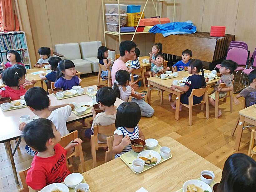 幼稚園児と井田
