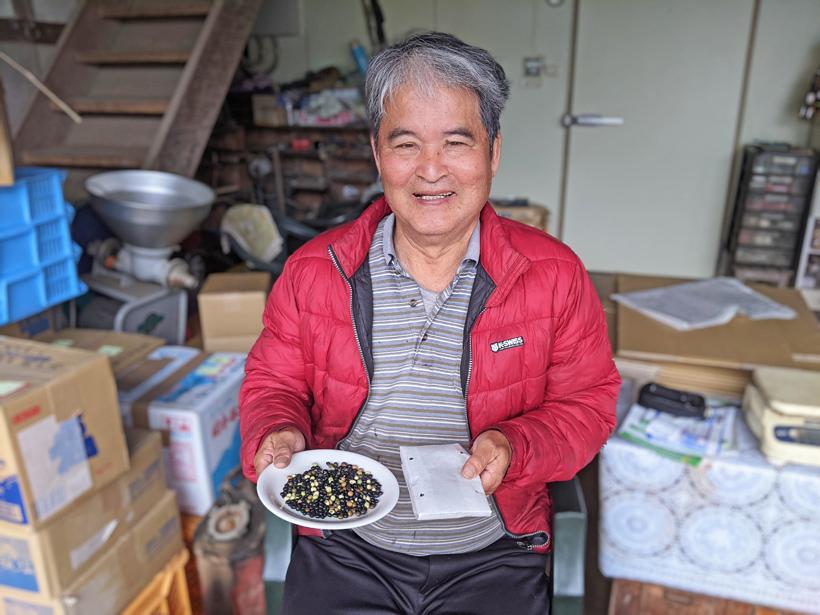 冨田さんと自然栽培納豆