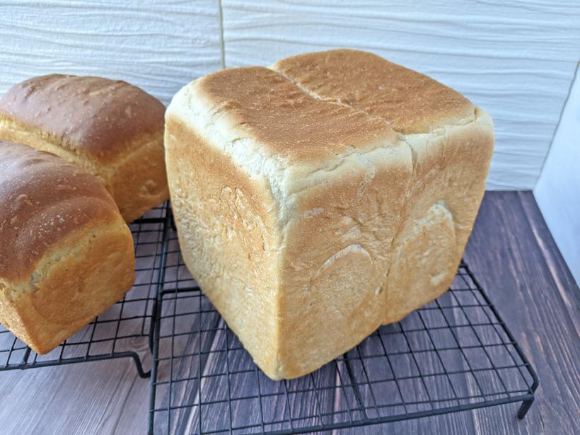 ミナミノカオリで食パン