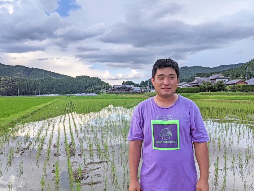 自然栽培米農家菅原陽介
